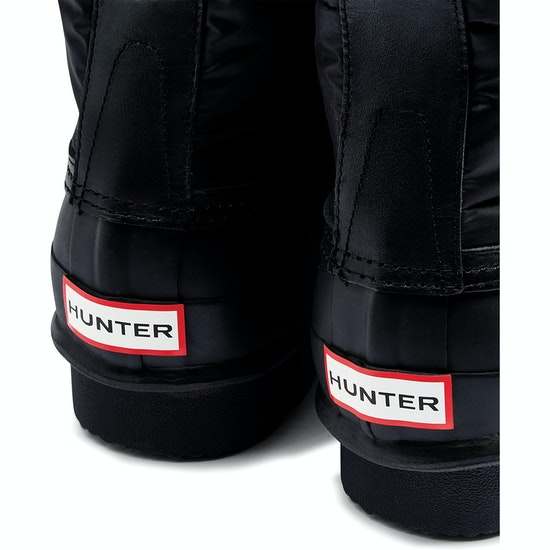 Hunter Original Quilted Lace Up Short Wellingtons