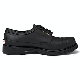 Hunter Original Derby Ladies Trainers - Black