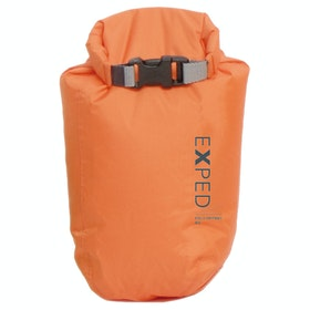 Saco Impermeável Exped Fold Dry Bright X Small - Orange