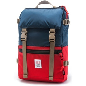Topo Designs Rover Backpack - Navy Red