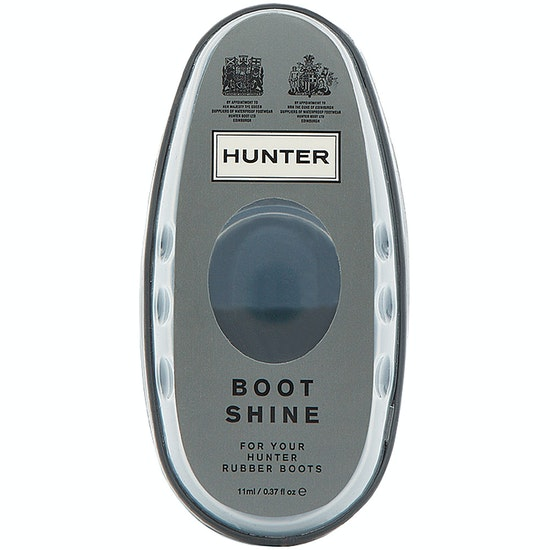 Hunter Boot Shine Cleaning