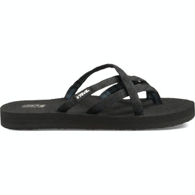 Teva Olowahu Ladies Sandals - Mix B Black On Black