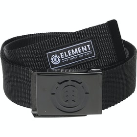 Element Beyond Geweven Riem - All Black