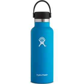 Hydro Flask 18 oz Standard Mouth With Flex Cap Water Bottle - Pacific