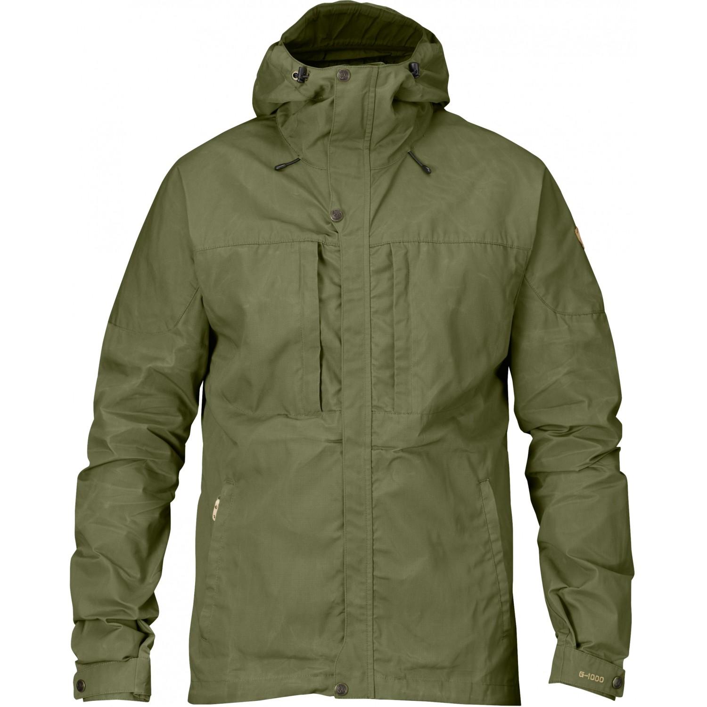 Green All Sizes Fjallraven Skogso Mens Jacket Windproof
