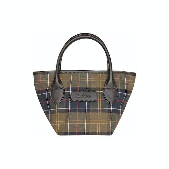 Barbour Tartan Tote Handtasche