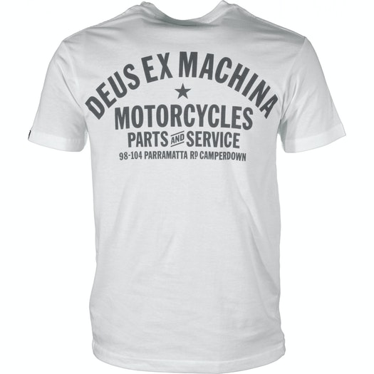 T-Shirt a Manica Corta Deus Ex Machina Camperdown Address