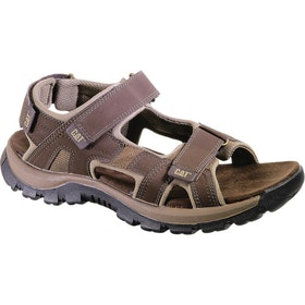 Caterpillar Giles Sandals - Dark Brown