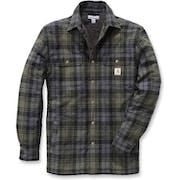 Carhartt Hubbard Sherpa Lined Long Sleeve Shirt