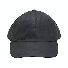 Barbour Wax Sports Mens Cap - Black