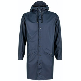 Rains Long Jacke - Blue