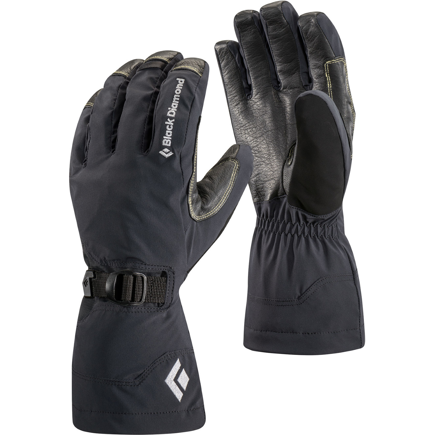 First Manufacturing Mens Light Lined Gloves Black, X-Small