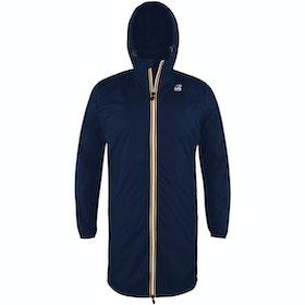 K-Way Le Vrai Eiffel 3.0 Waterproof Jacket - Depth Blue