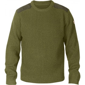 Fjallraven Singi Knit Sweater - Dark Olive