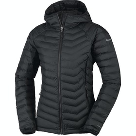 Columbia Powder Lite Hooded Ladies Jacket - Black