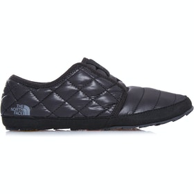 North Face Thermoball Traction Mule II Ladies Slippers - Shiny TNF Black TNF Black