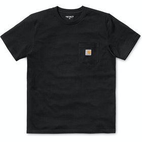 Carhartt Pocket T-Shirt Korte Mouwen - Black