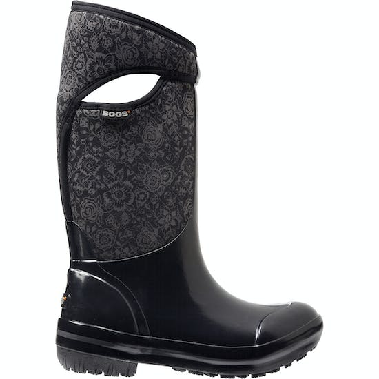 Botas de lluvia Bogs Plimsoll Quilted Floral Tall