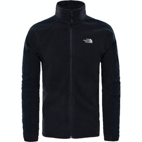 North Face Glacier Delta Full Zip Fleece - TNF Black