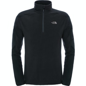 North Face Glacier Delta Quarter Zip フリース - TNF Black