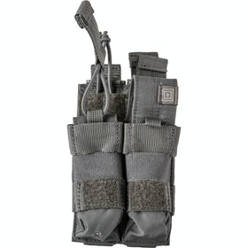 5.11 Tactical Double Pistol Bungee-Cover Pouch - Storm