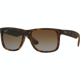 Ray-Ban Justin Polarised Sunglasses - Havana ~ Brown Gradient
