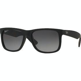 Солнцезащитные очки Ray-Ban Justin Поляризационные - Black ~ Grey Gradient