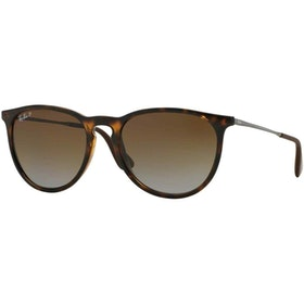 Ray-Ban Erika Polarised Ladies Sunglasses - Havana ~ Brown Gradient