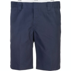 Dickies 11 Inch Slim Straight Work Walk Shorts - Navy Blue