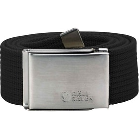 Fjallraven Canvas Web Belt - Black