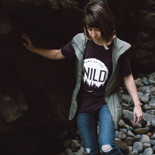 T-Shirt à Manche Courte The Level Collective Sound Of The Wild