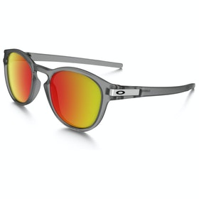 Oakley Latch Zonnebril - Grey Ink ~ Ruby Iridium