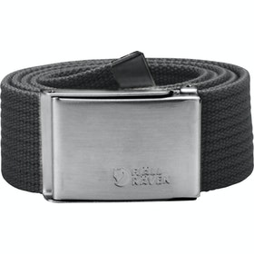 Fjallraven Canvas Web Belt - Dark Grey
