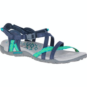 Merrell Terran Lattice II Ladies Sandals - Navy