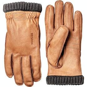 Hestra Deerskin Primaloft Rib Gloves - Cork