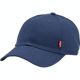 Levi's Classic Twill Red Tab Cap - Navy Blue