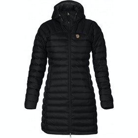 Fjallraven Snow Flake Parka Dames Jas - Black