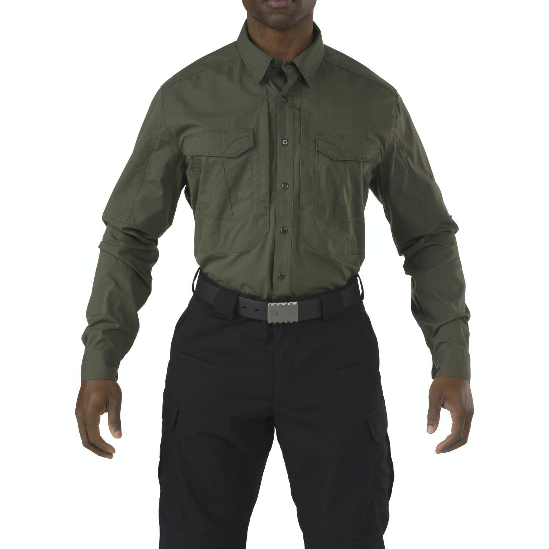 5 11 Tactical Stryke Long Sleeve Shirt From Nightgear Uk