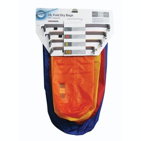 Saco Impermeável Exped Fold Dry 4 Pack - Ultralight Assorted