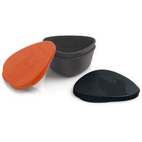 Light My Fire Snapbox Original Camping Accessory - Orange Black