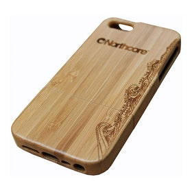 Northcore Adventure Wood iPhone 4 - 4S Phone Case - Bamboo