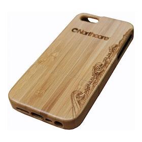 Northcore Adventure Wood iPhone 4 - 4S Telefooncase - Bamboo