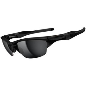 Oakley Half Jacket 2.0 Zonnebrillen - Polished Black ~ Black Iridium
