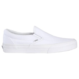 Vans Classic Slip On Trainers - True White