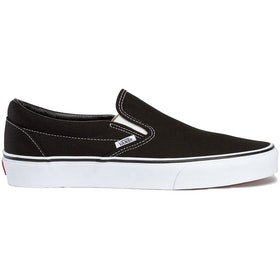 Vans Classic Slip On Trainers - Black