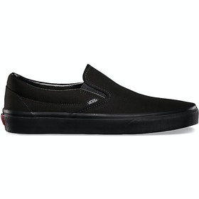 Vans Classic Slip On Trainers - Black Black