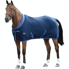 Weatherbeeta Double Bonded II Standard Neck Fleece Rug - Navy Royal Blue