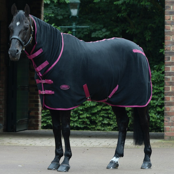 Weatherbeeta Fleece Combo Neck Cooler Rug Available From