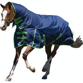 Weatherbeeta ComFiTec Plus Dynamic Medium Lite Combo Turnout Rug - Navy Lime
