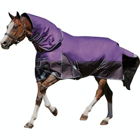 Weatherbeeta ComFiTec Plus Dynamic Detach-A-Neck Medium Lite Turnout Rug - Purple Black